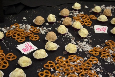 Pretzel cake and chocolate chip cake truffles, Christina Tosi, Momofuku Milk Bar
