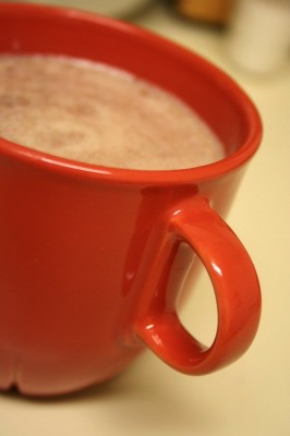 banana hot cocoa