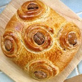 Christopsomo - Greek Christmas bread