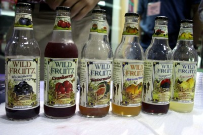 Wild Fruitz's soda